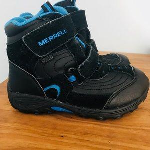 ❄️⛄️Toddler Boy's Merrell Moab Polar Boots